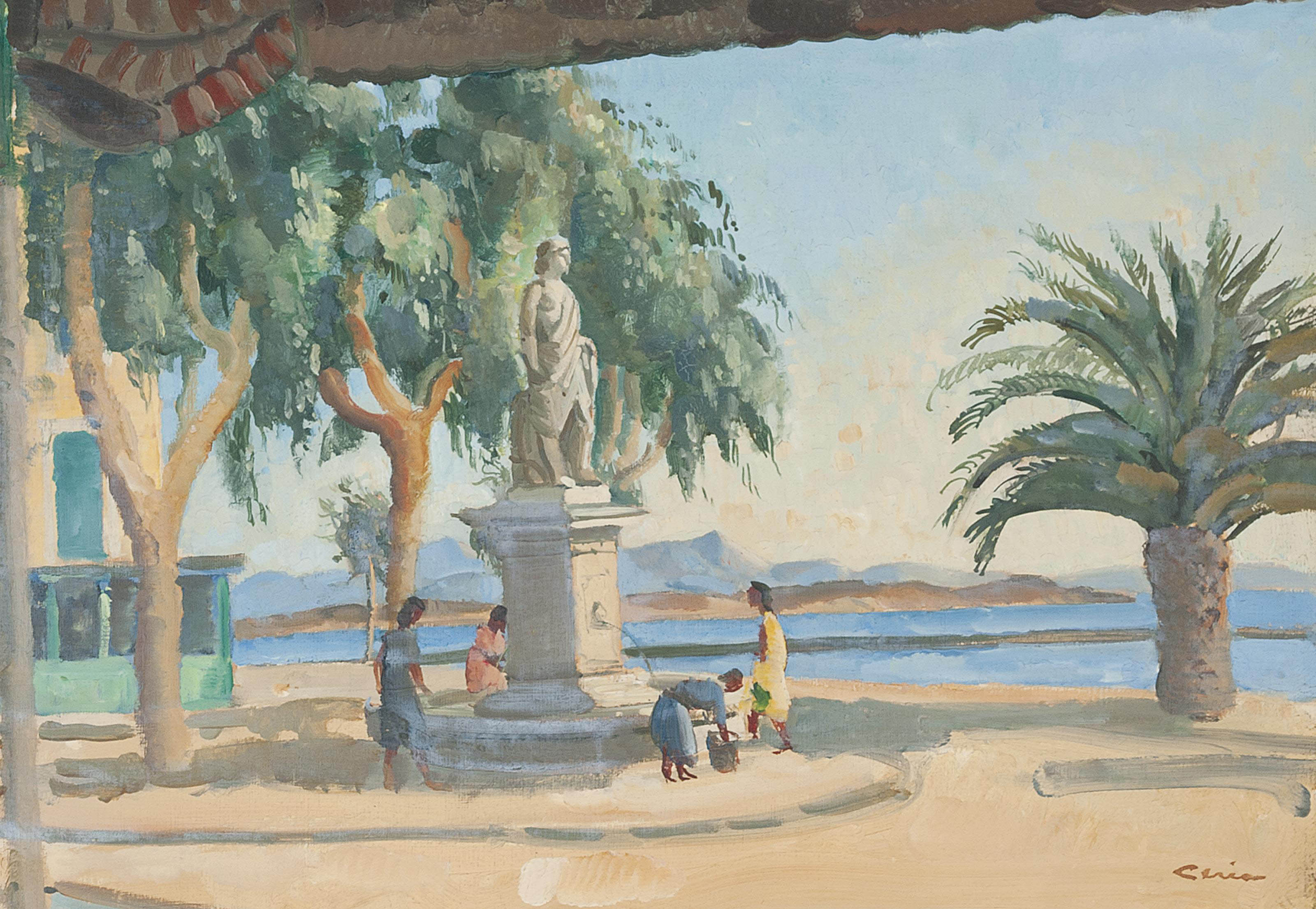 The fountain, Sanary