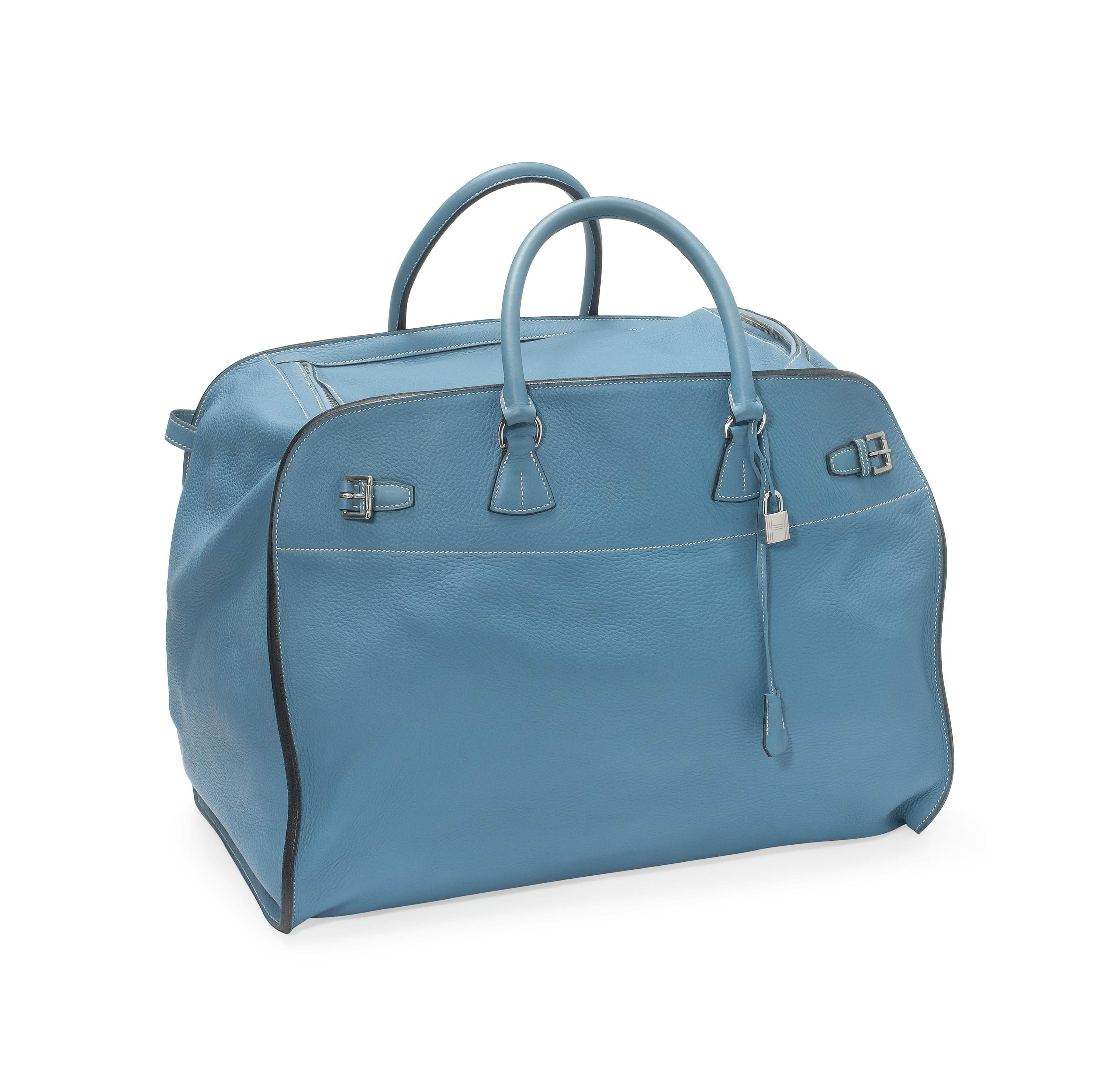 A BLEU JEAN LEATHER HOLD-ALL