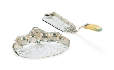 A CARDEILHAC SILVER AND IVORY