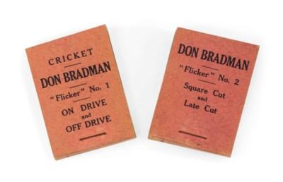 BRADMAN, 'Don' (1908-2001). 'F