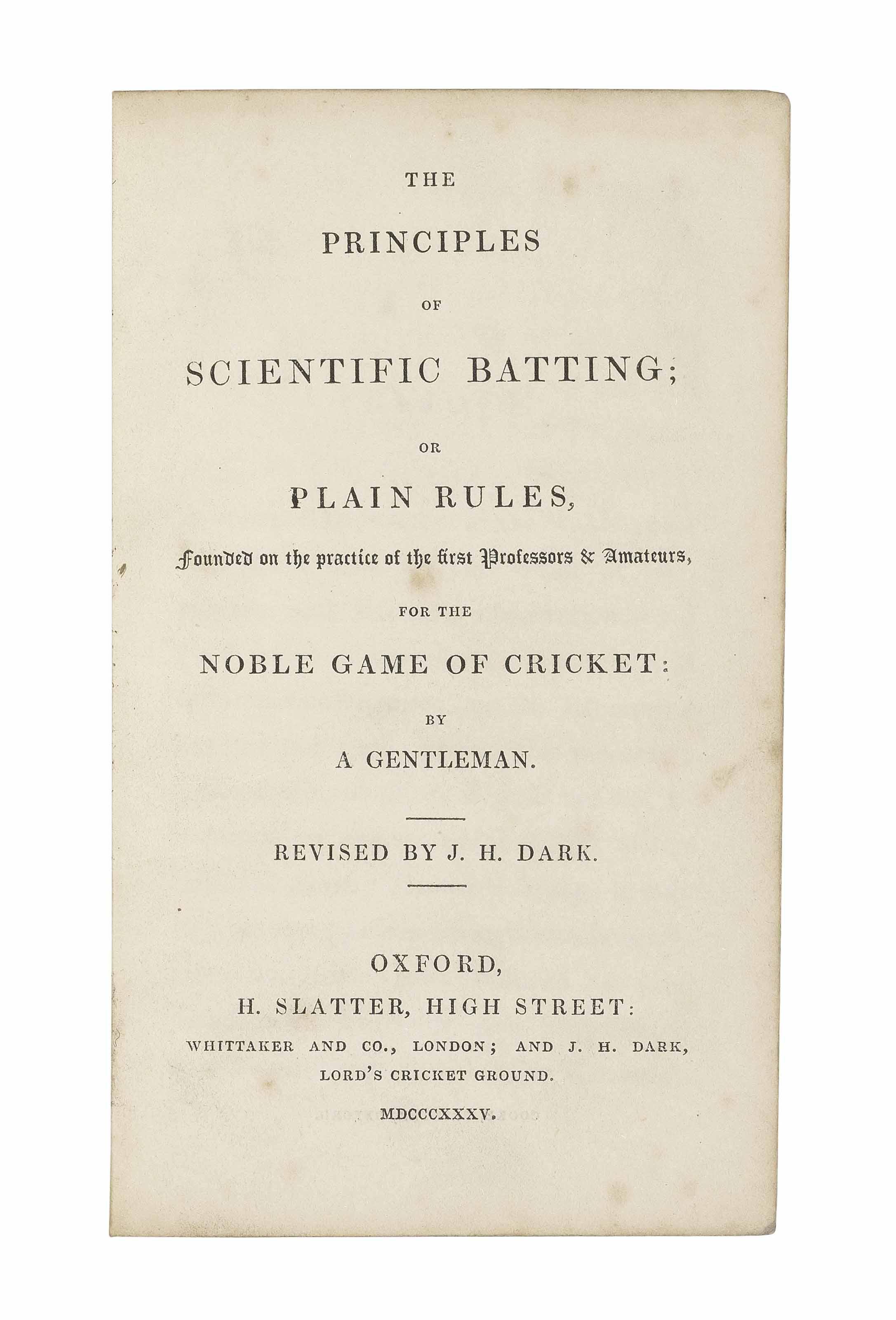 PYCROFT, James (1813-1895). Th