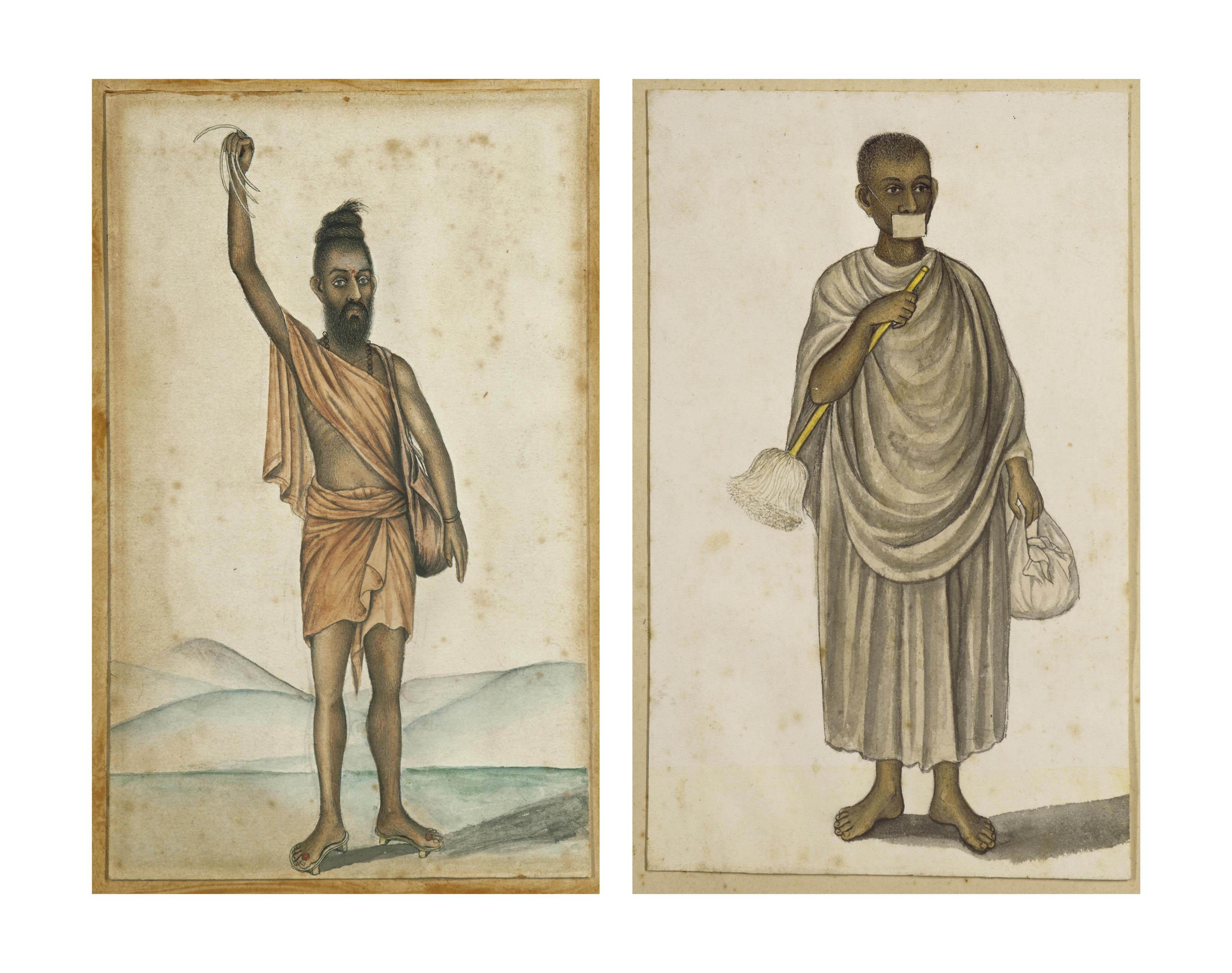 TWO PAINTINGS OF ASCETICS: AN URDHVA-BAHU AND A SVETAMBARA JAIN