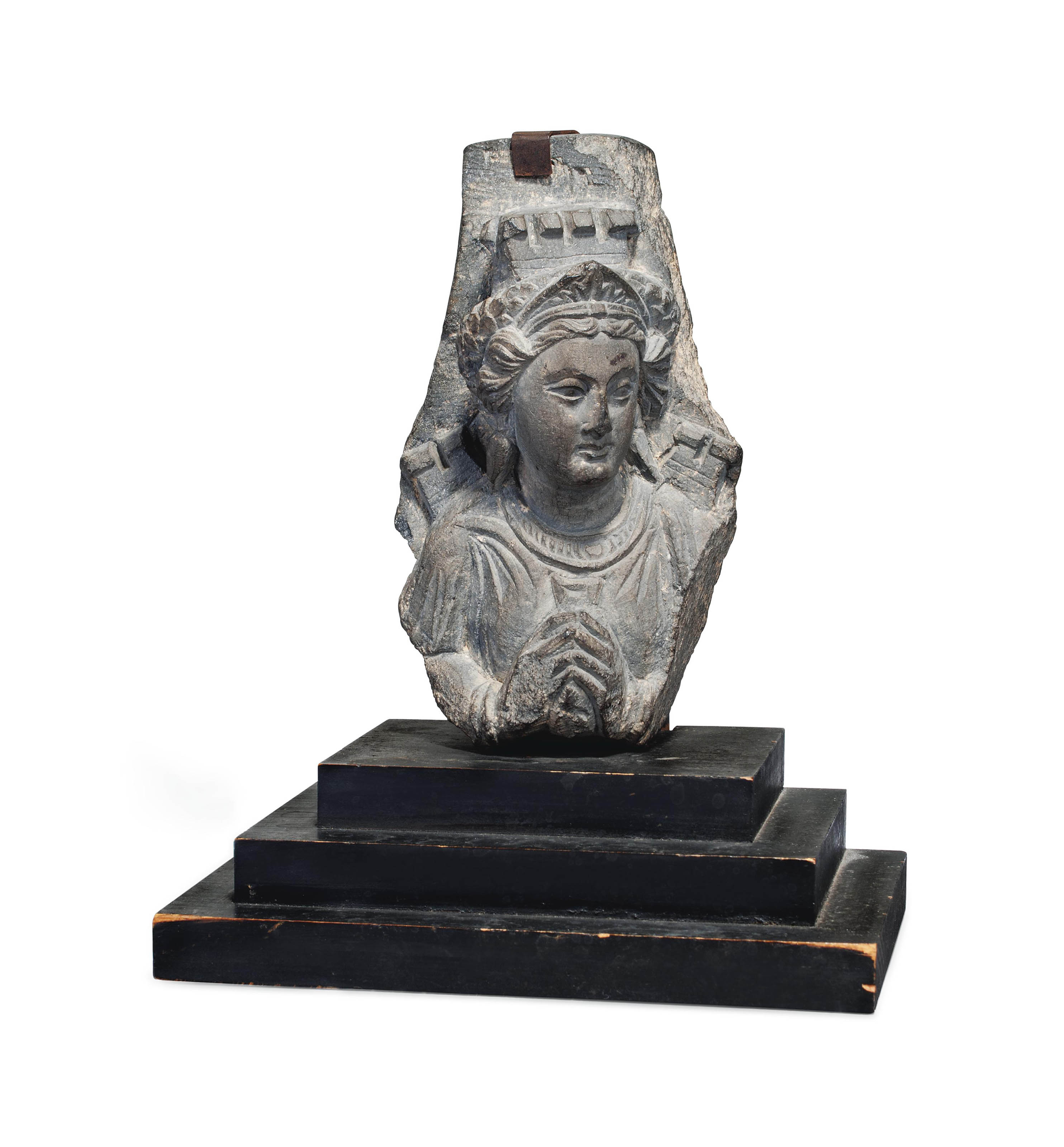AN ALLEGORICAL FIGURE OF A CITY (TYCHE)
