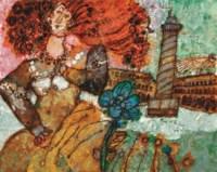 Paris et la dame aux cheveux rouges
