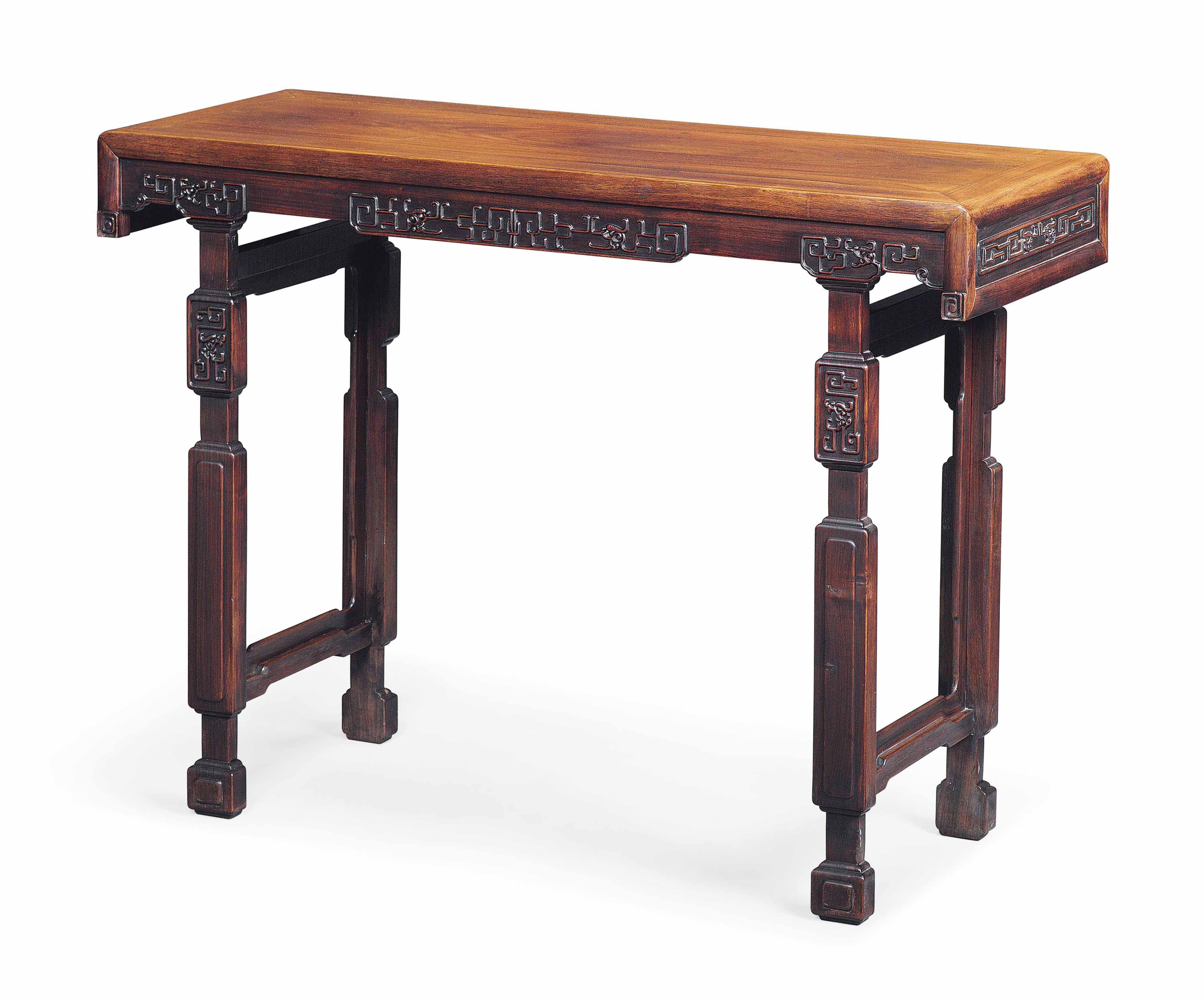 A CHINESE HONGMU TABLE