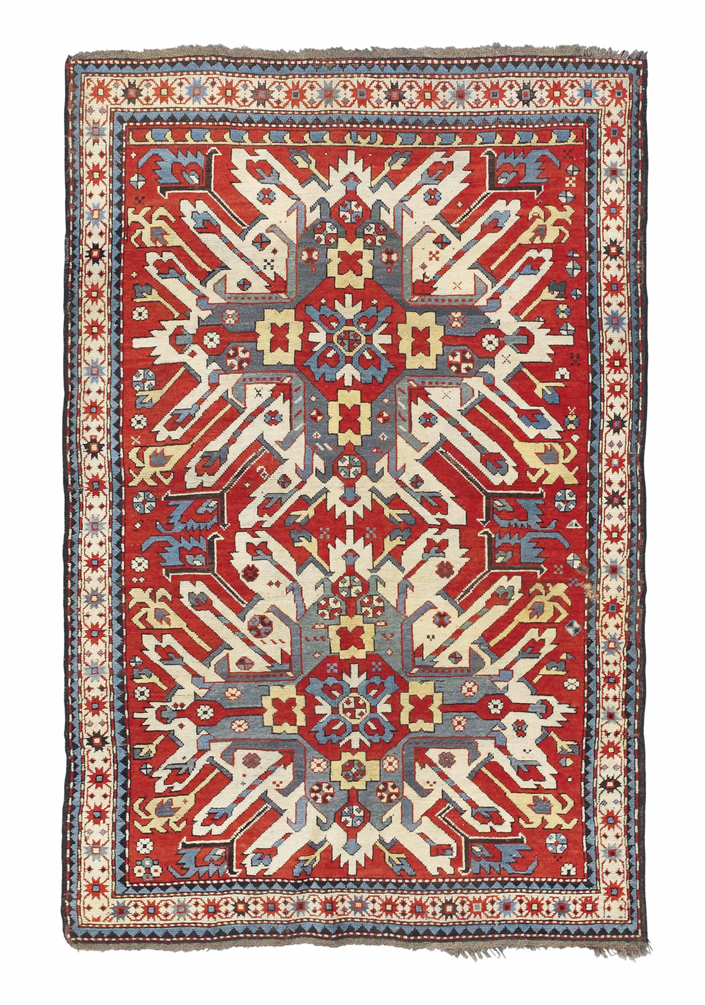 A CHELABERD RUG, SOUTH CAUCASU