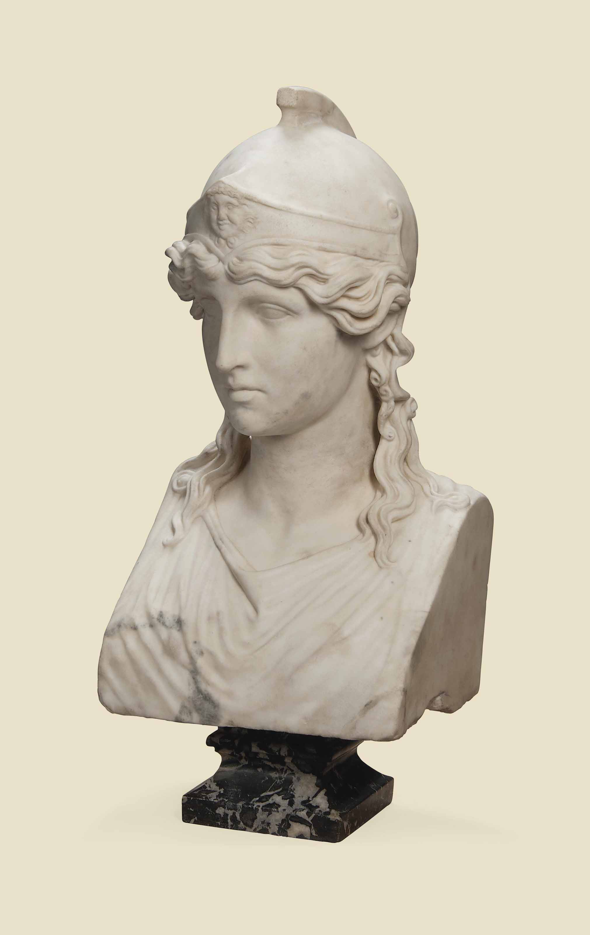 Bust of athena - Homework Example