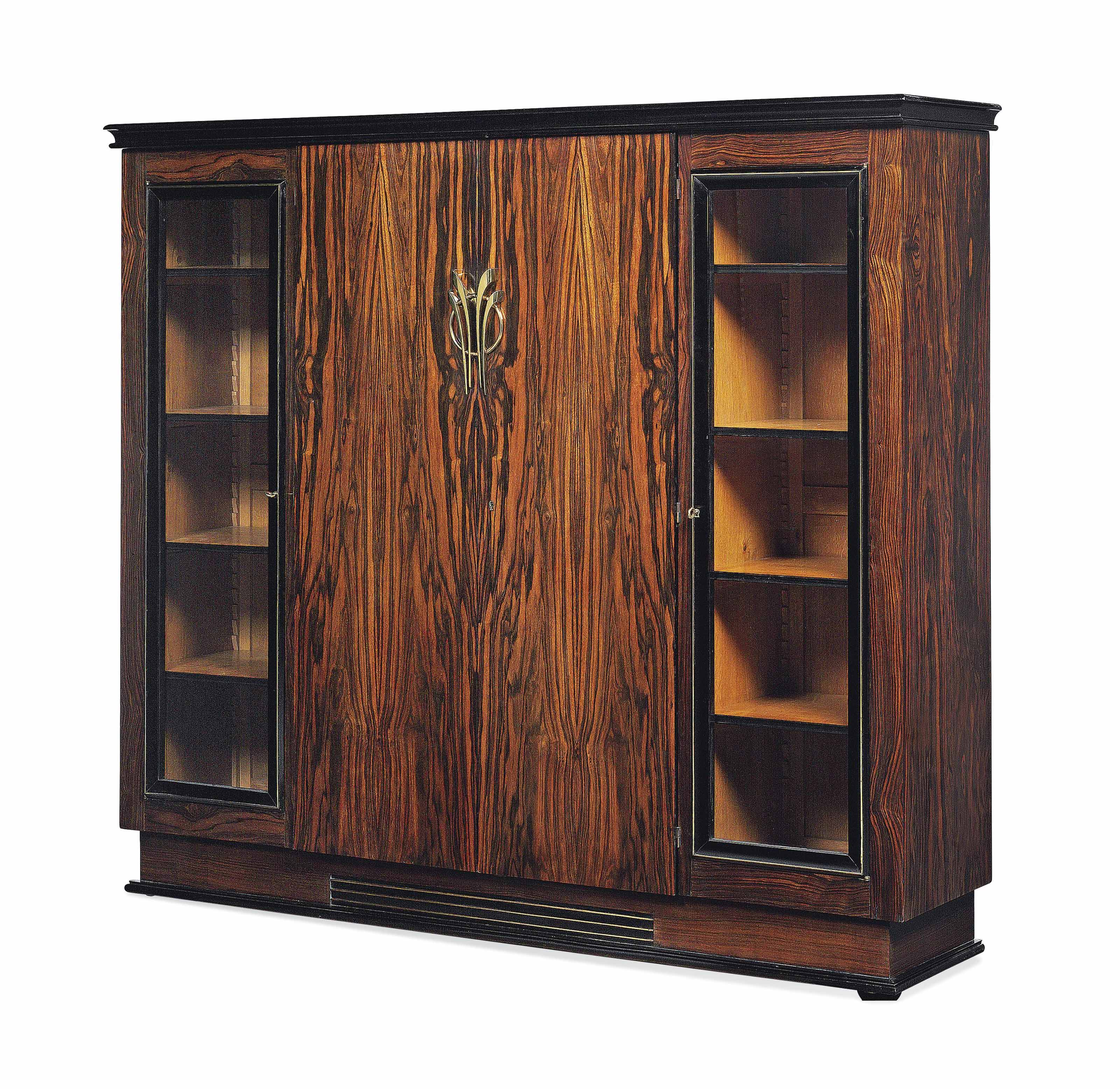 A FRENCH MACASSAR CABINET