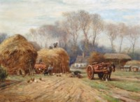 Bringing home the hay