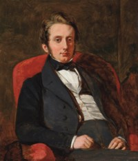 Portrait of Henry Charles Hamilton (1811-1872), seated half-length