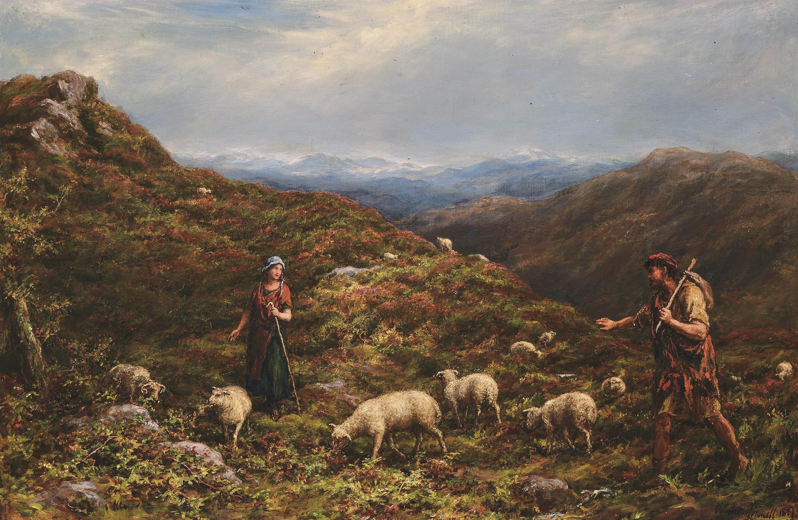 A chance meeting in the Highlands