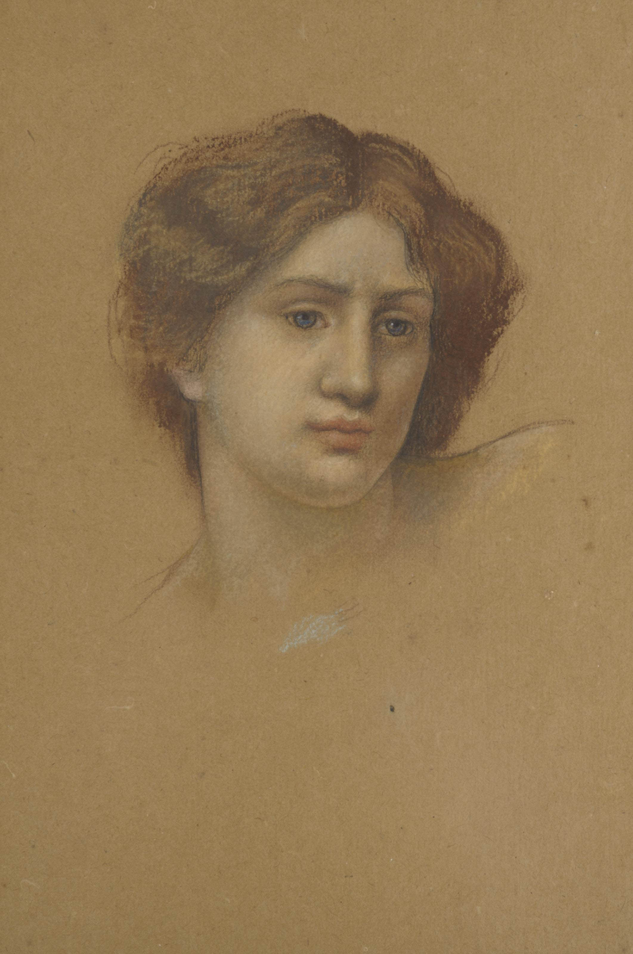 Head study of a woman