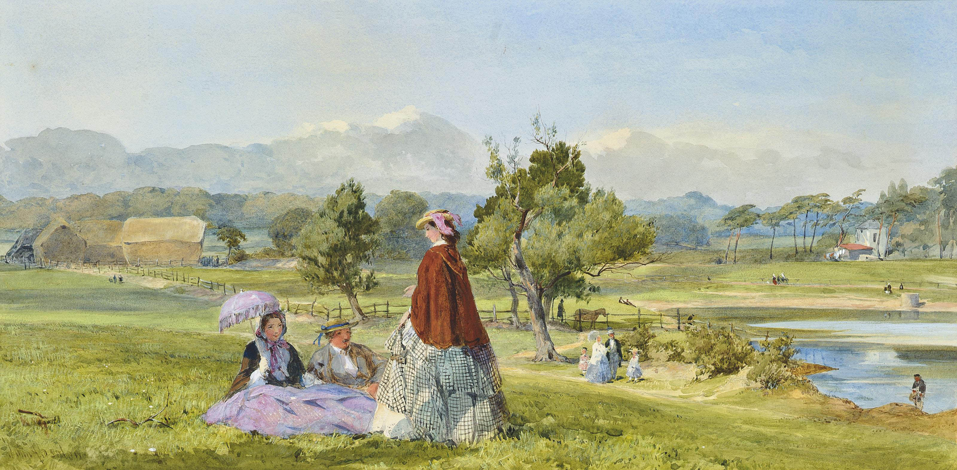 A summer idle