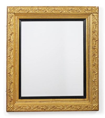 A GILTWOOD AND GESSO PICTURE F