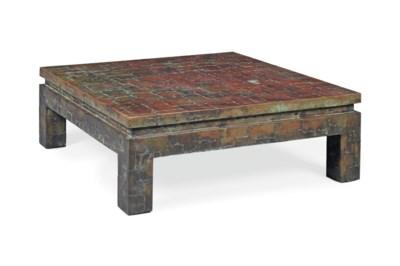 A COPPER-CLAD LOW TABLE