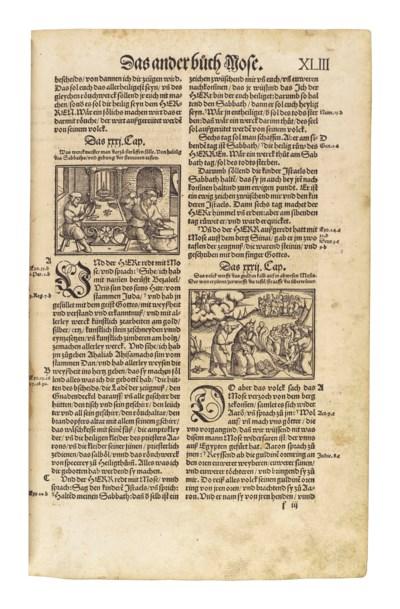 BIBLE, in German: Die gantze B