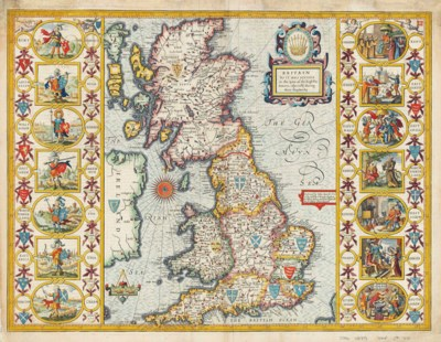 SPEED, John (1552-1629) Britai