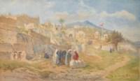 Arab Cemetery, Tetouan, Morocco