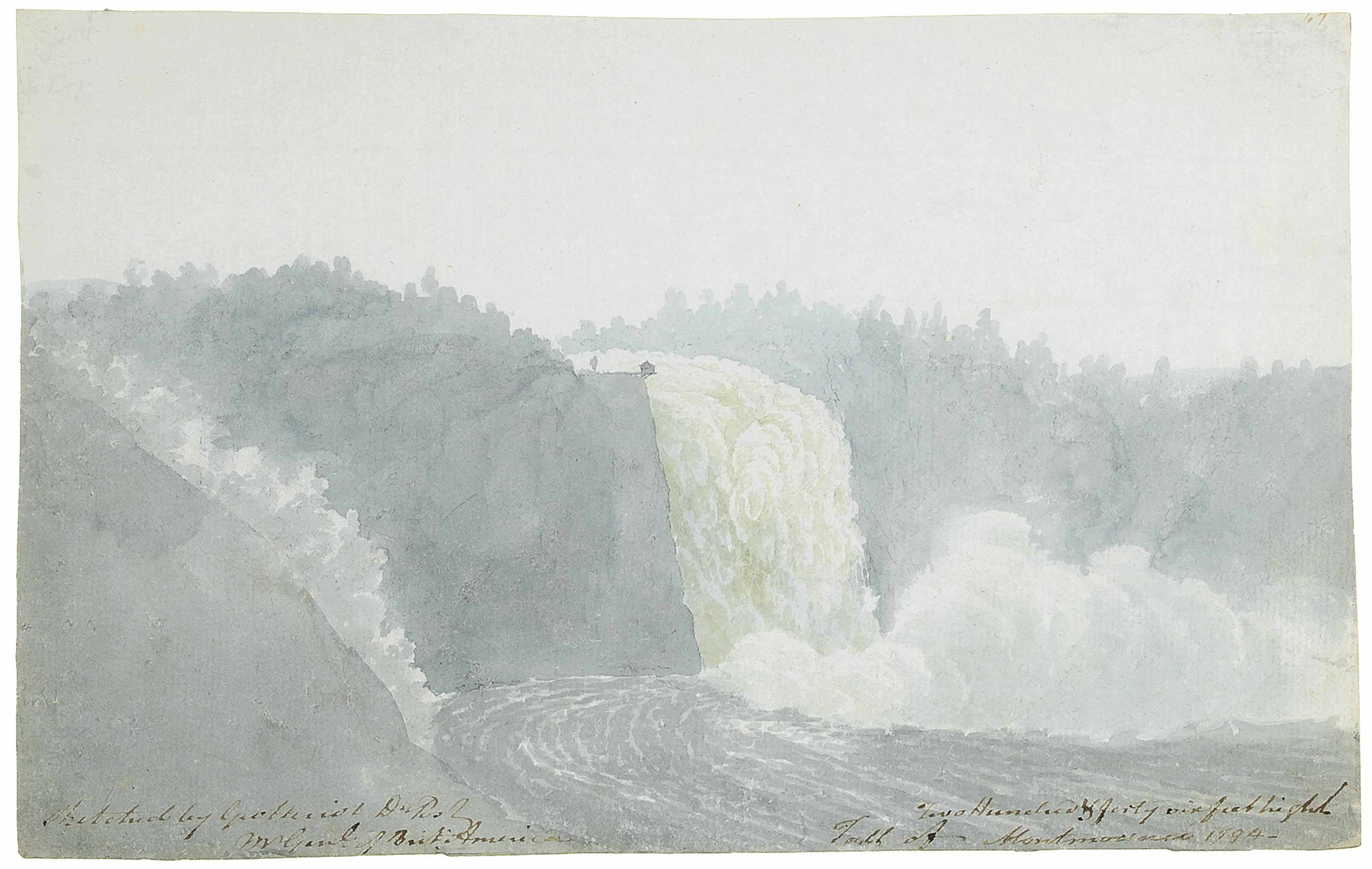 The Falls of Montmorency, Quebec