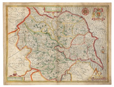 SPEED, John (1522-1629). Yorks