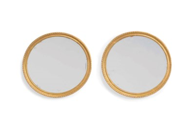 A PAIR OF GEORGE III OVAL PICT