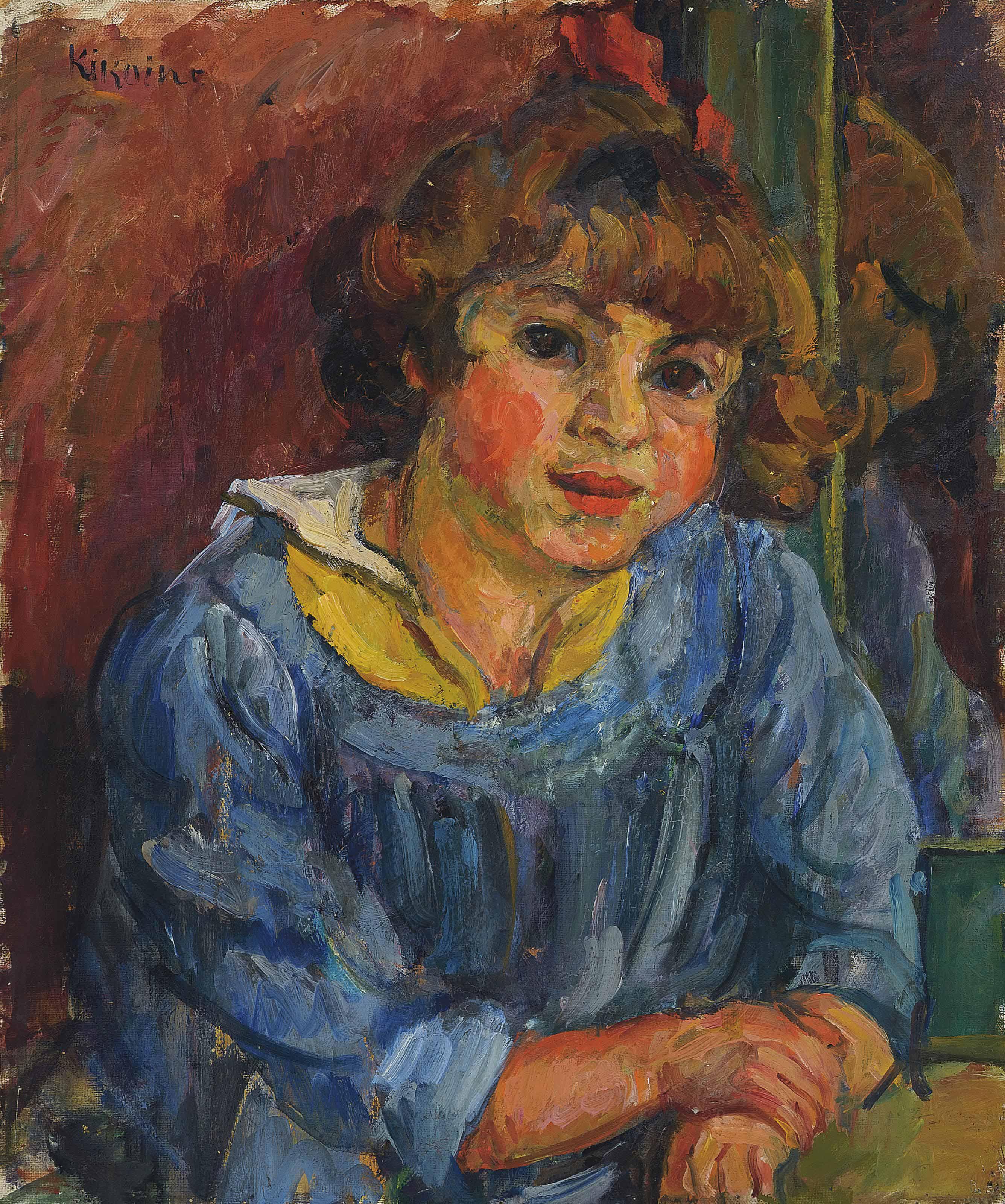 Portrait du fils de l'artiste, Jacques Kikoine
