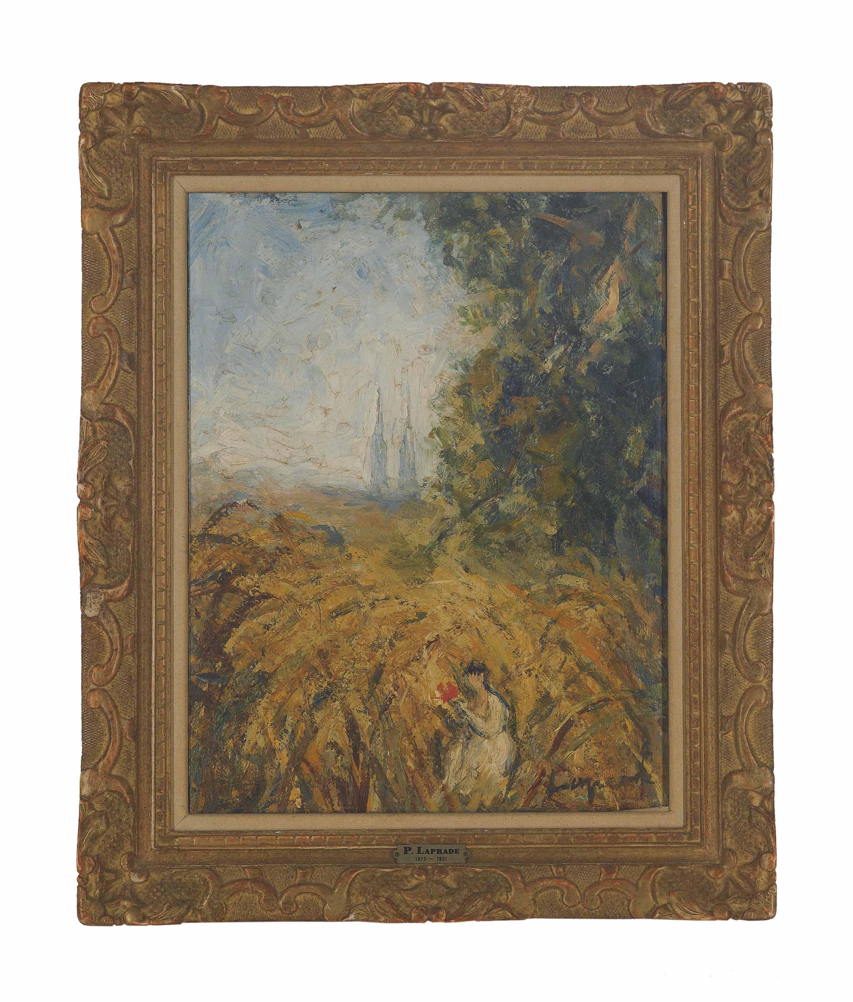 L'église dans les blés