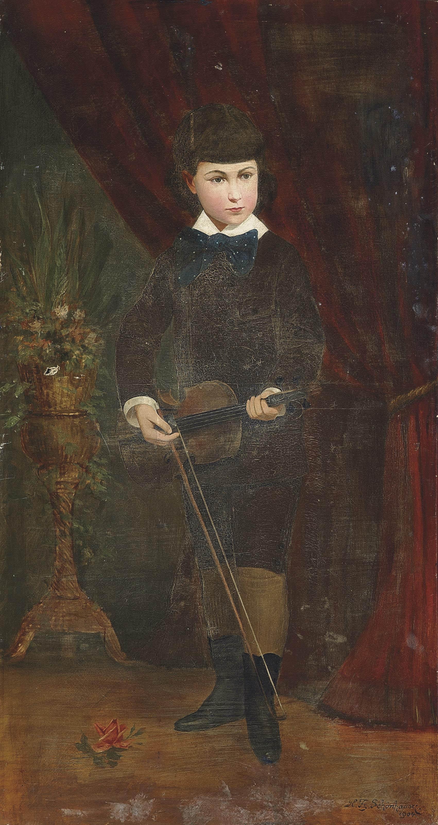 H. Franz Schönhaüser (Austrian, b.1838)