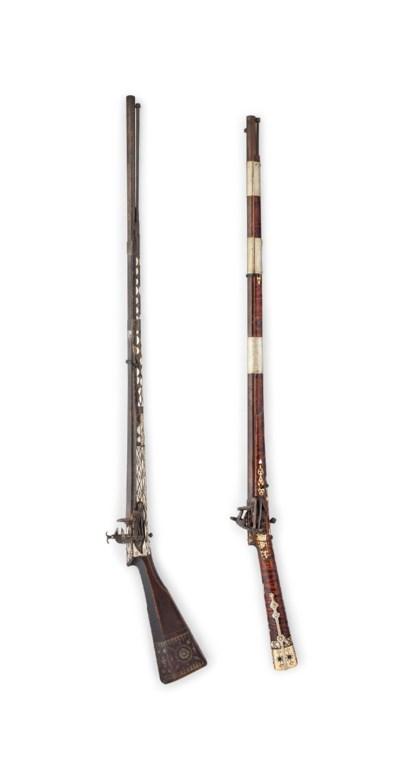 TWO LONG GUNS