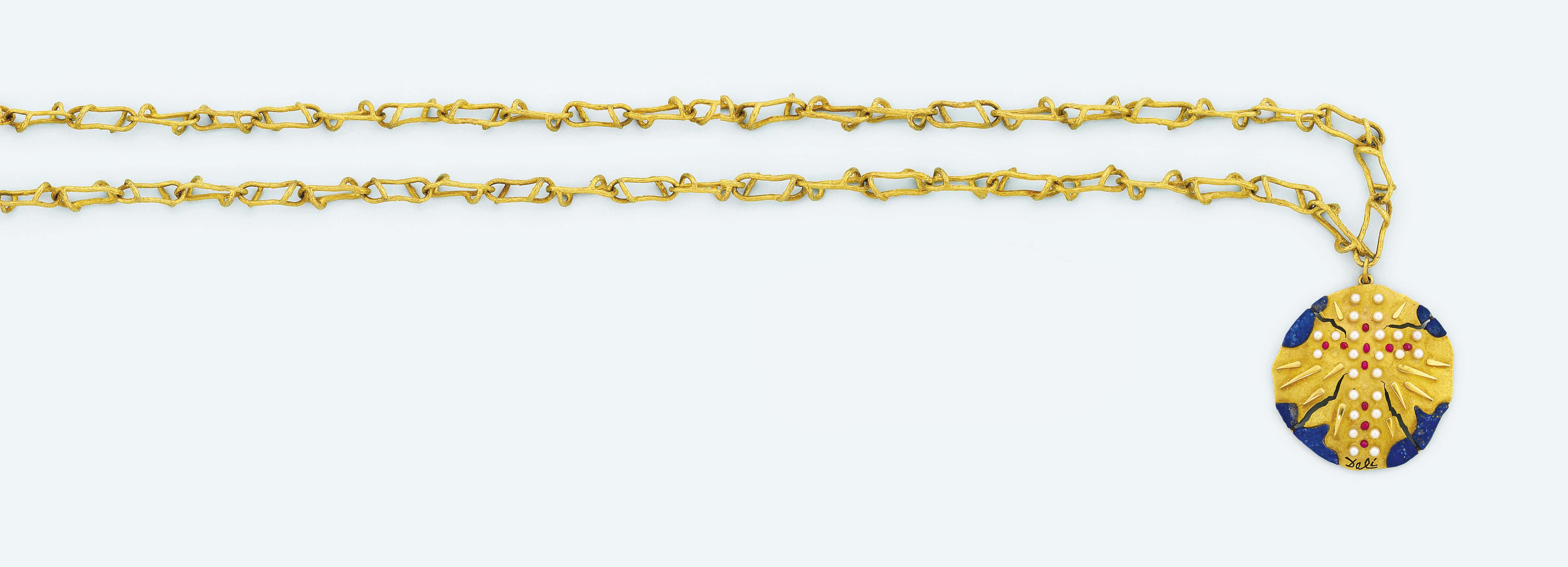 A gem-set pendant, by Salvador