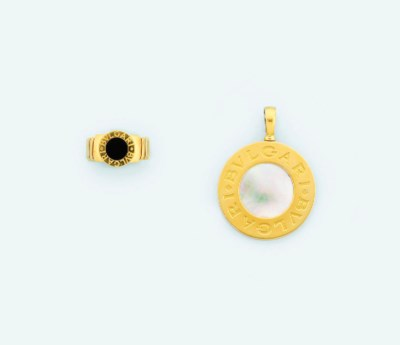 A pendant and 'Tubogas' ring,