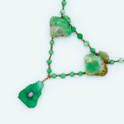An early 20th century jadeite