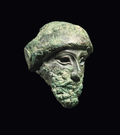 A MESOPOTAMIAN COPPER ALLOY HE