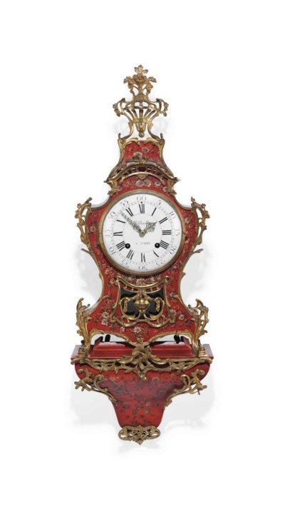 A LOUIS XV ORMOLU-MOUNTED RED
