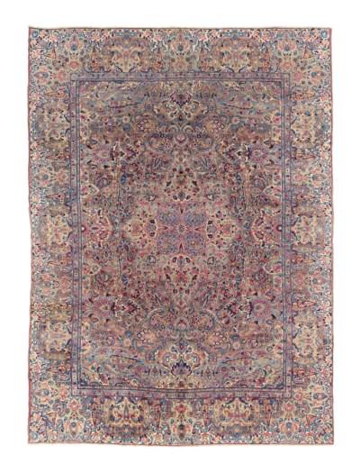 A fine Kirmman carpet