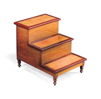 A SET OF WILLIAM IV MAHOGANY B