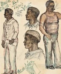 Cassis, Bar de la Jetée; Bar, Tahiti; Music Shop, Rue Tapis (illustrated); and Marseilles, bouche de Rhône