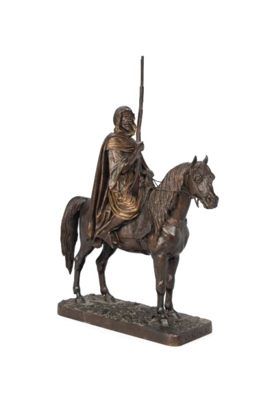 A FRENCH BRONZE MODEL OF A NOR
