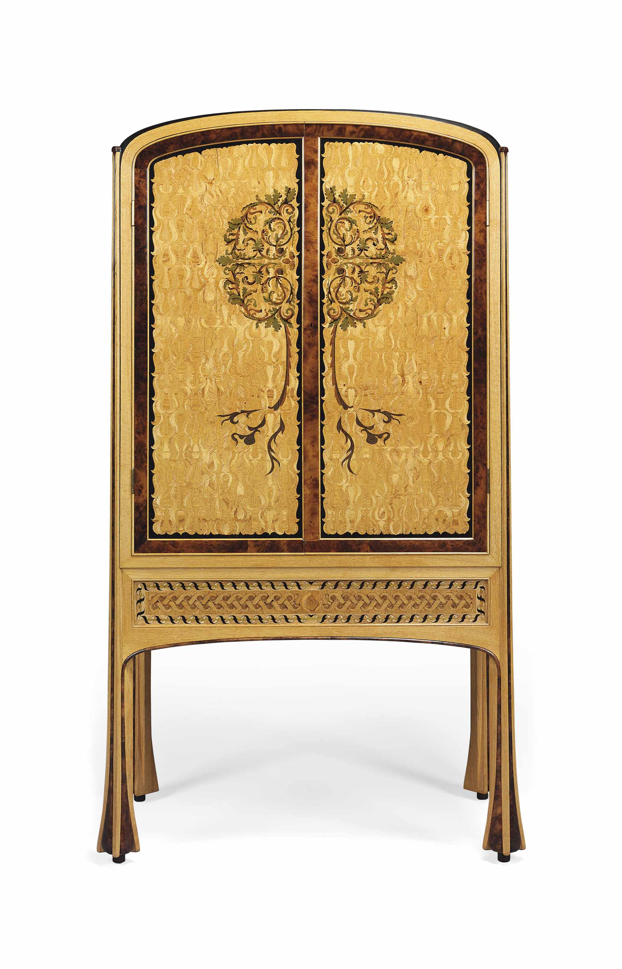 'OAK IN TIME CABINET' A MARQUE
