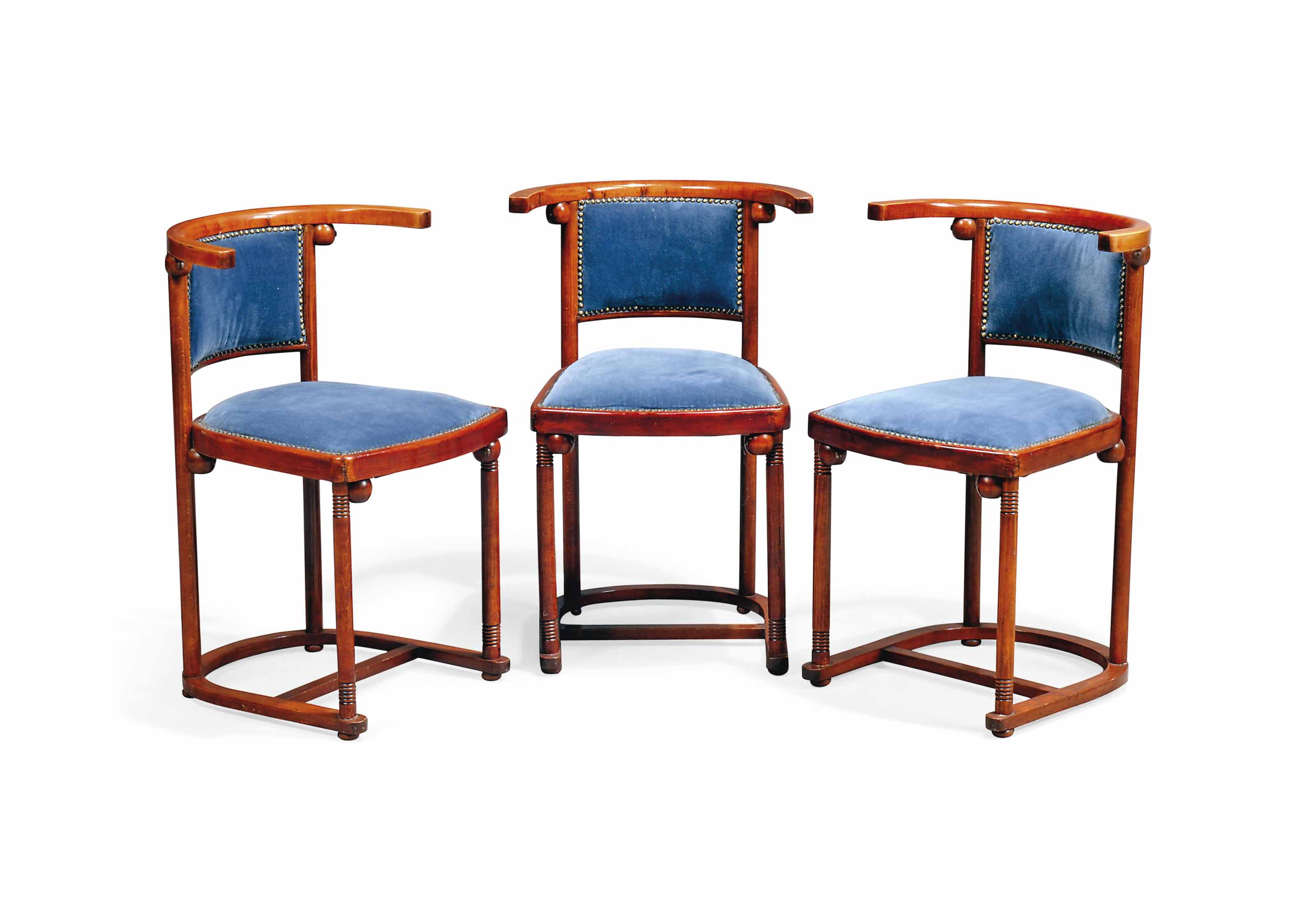 A SET OF THREE JOSEF HOFFMANN
