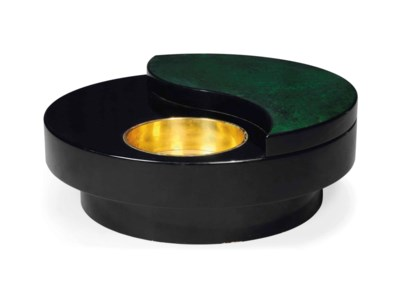 A WILLY RIZZO TRG COFFEE TABLE