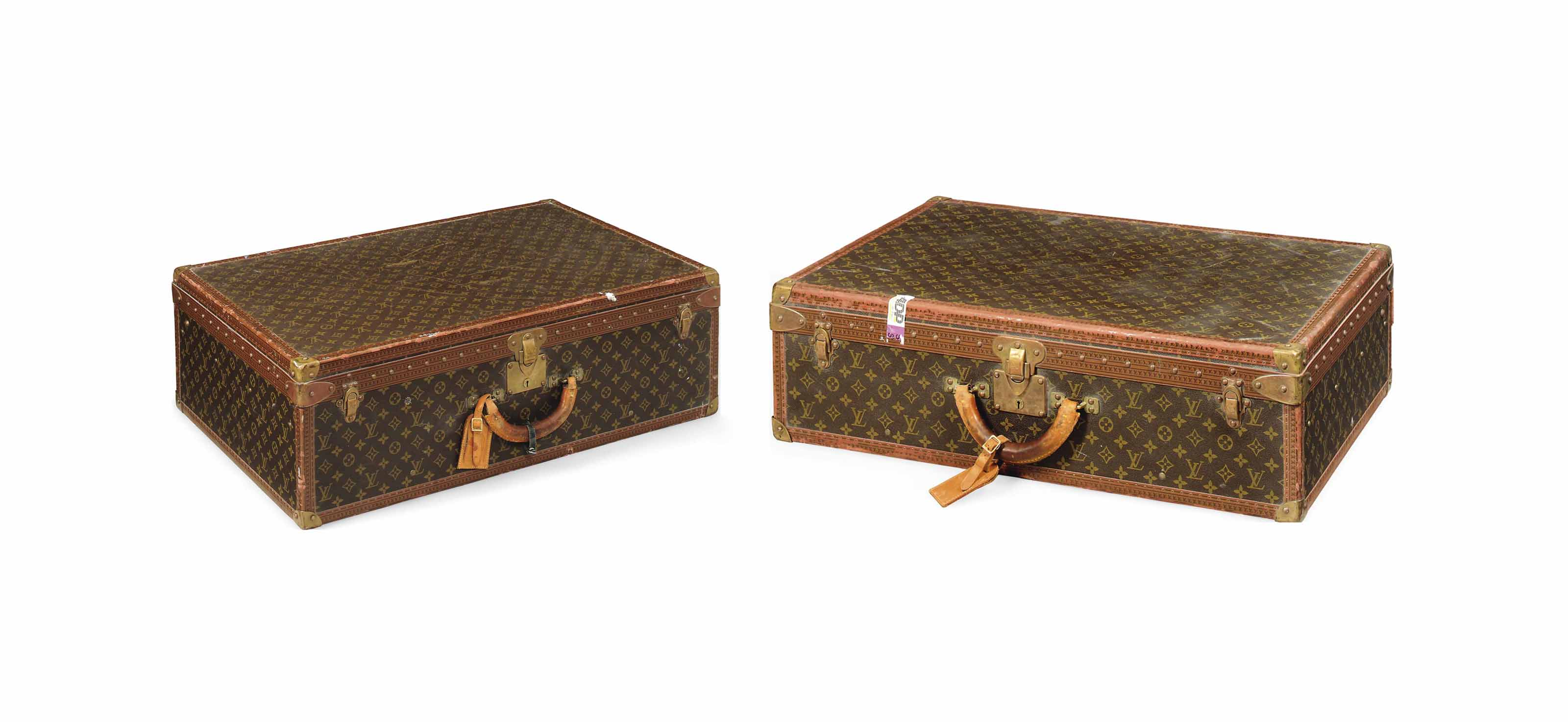 TWO HARD-SIDED SUITCASES IN MO