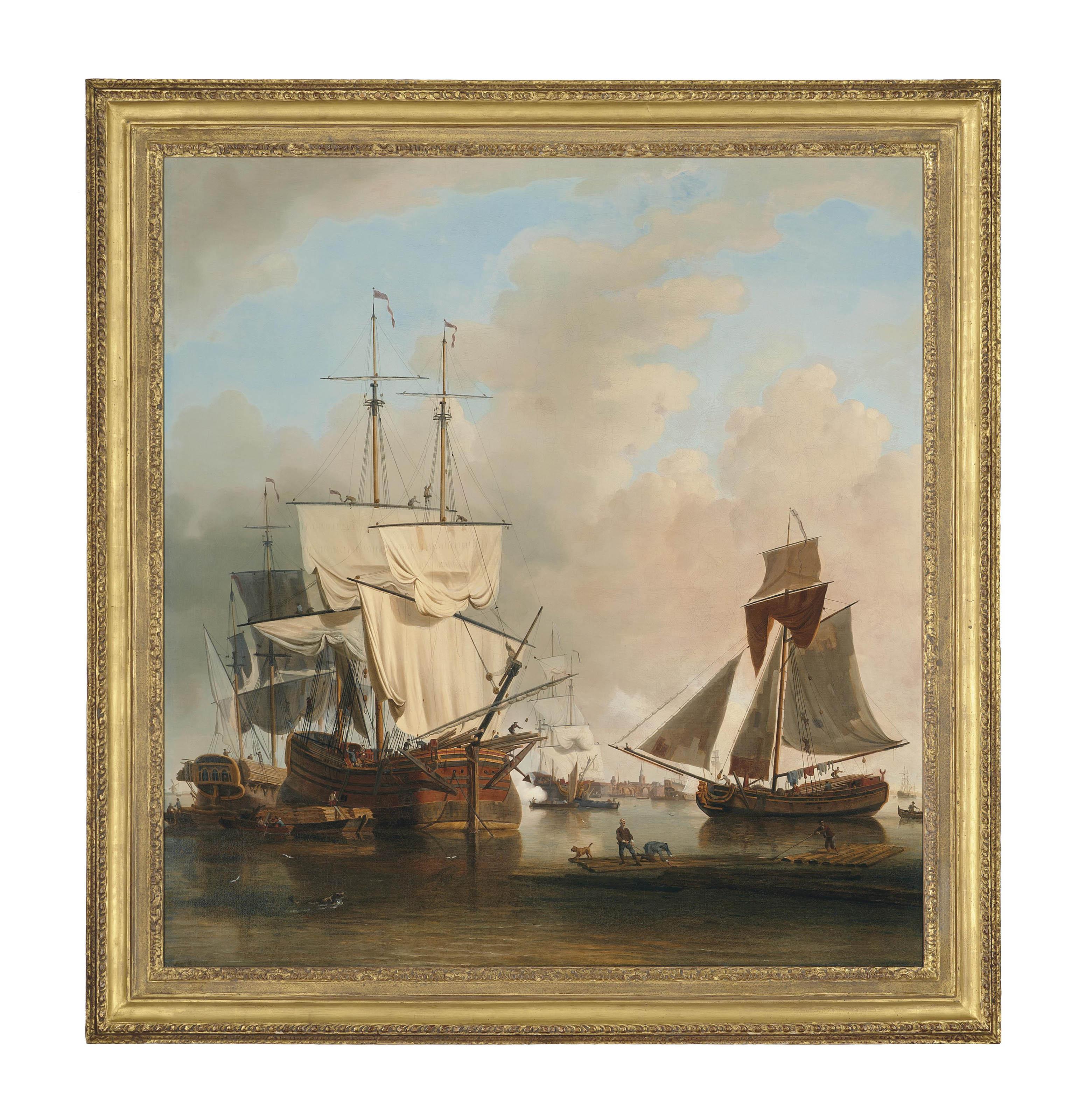 Samuel Scott (London 1701/2-17