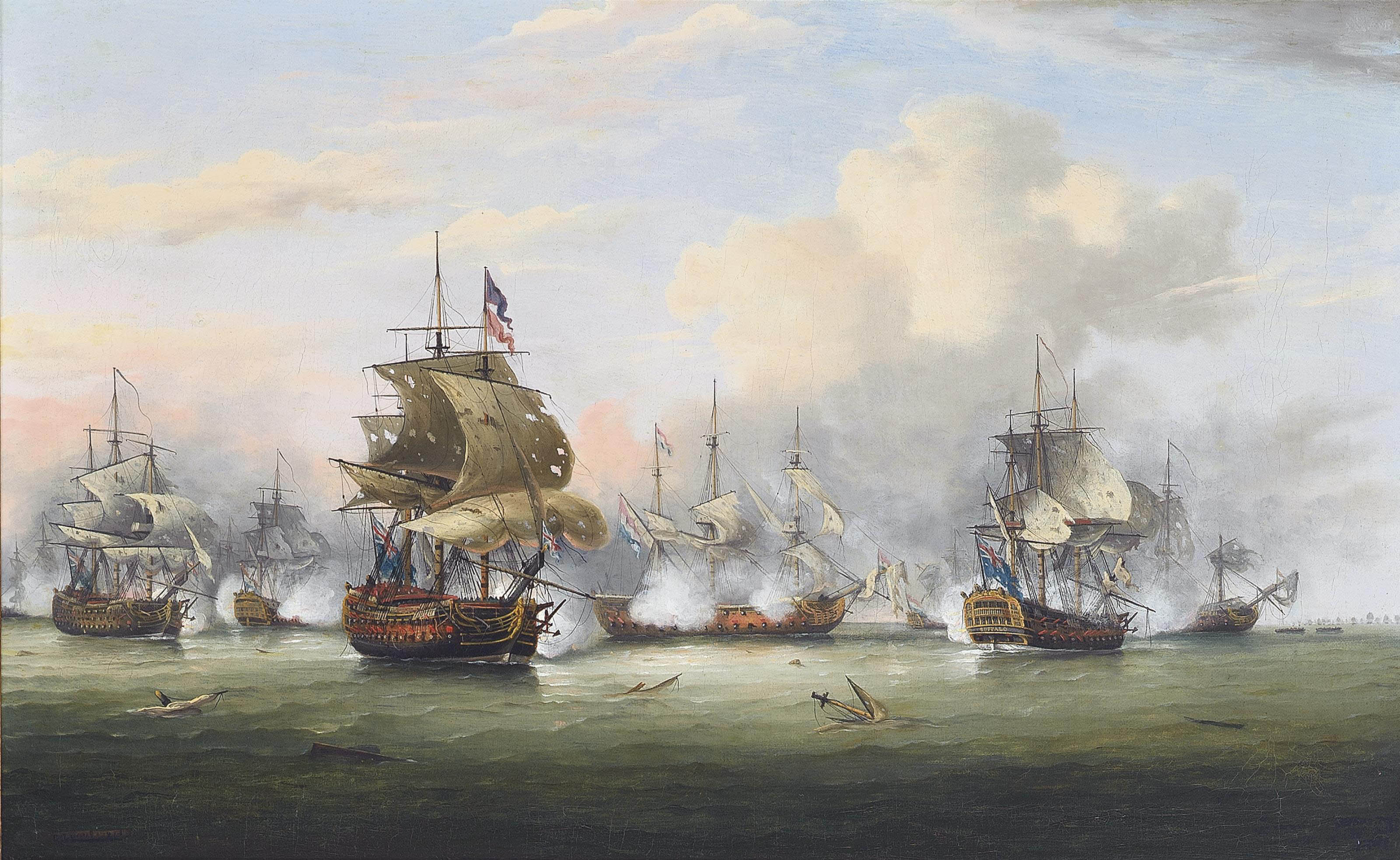 The Battle of the Dogger Bank, 5th August 1781