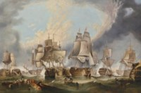 The Battle of Trafalgar, 21st October 1805
