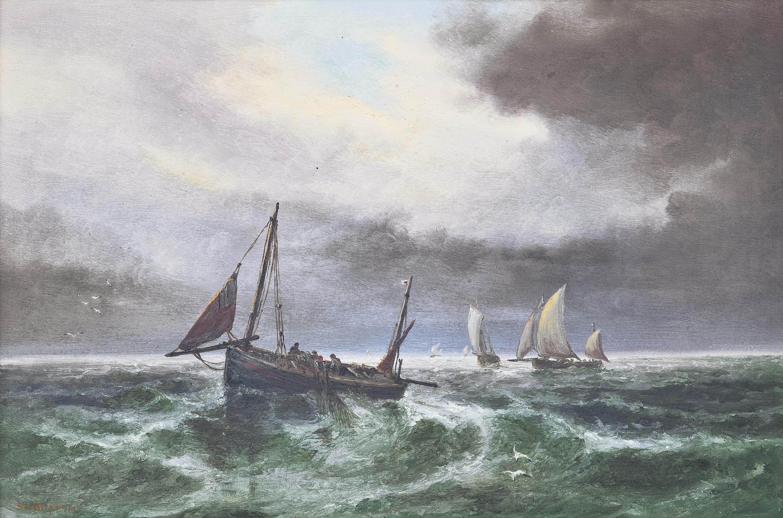 Sarah Louisa Kilpack (London c
