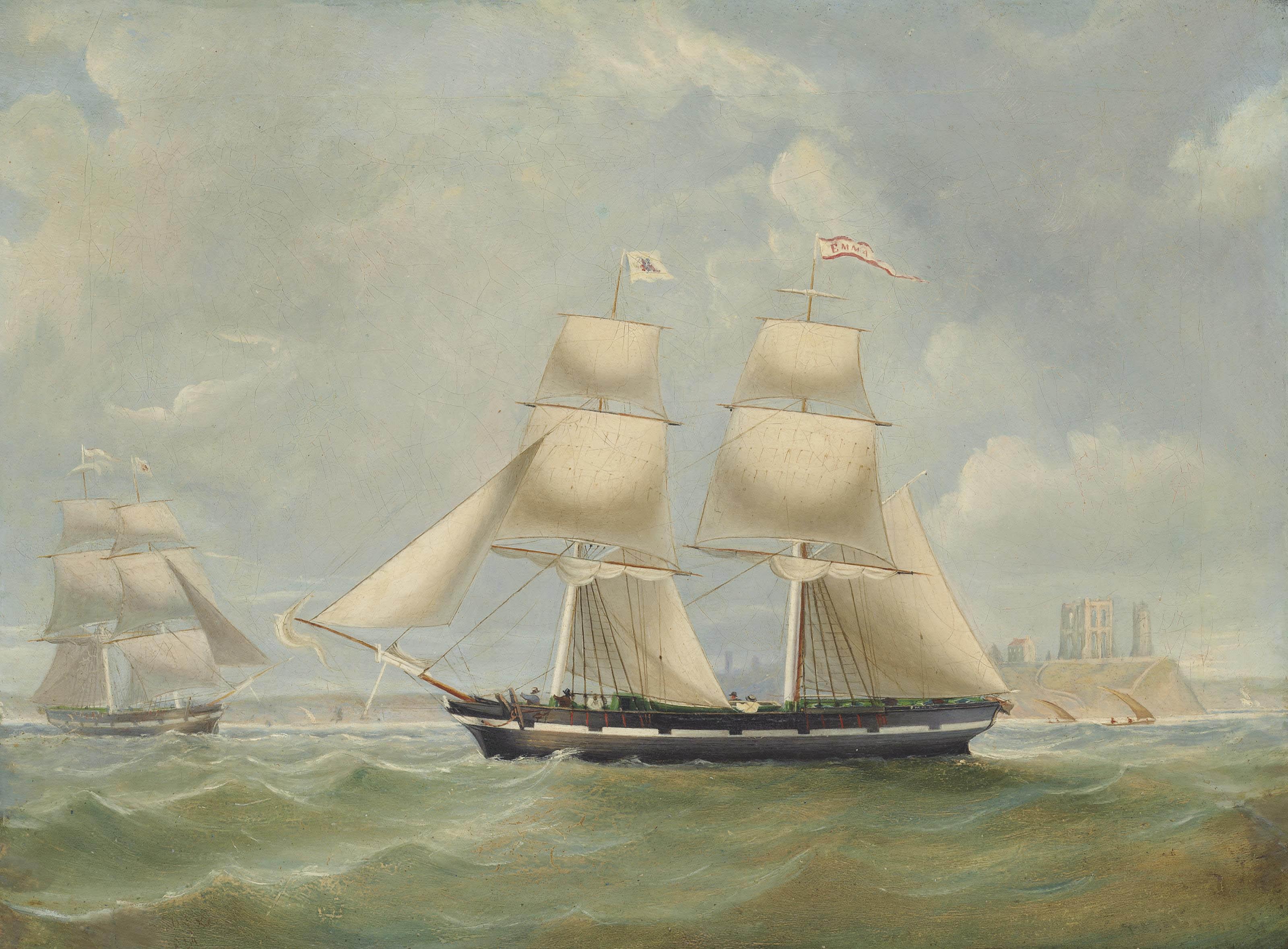 Circle of John Scott (1802-188