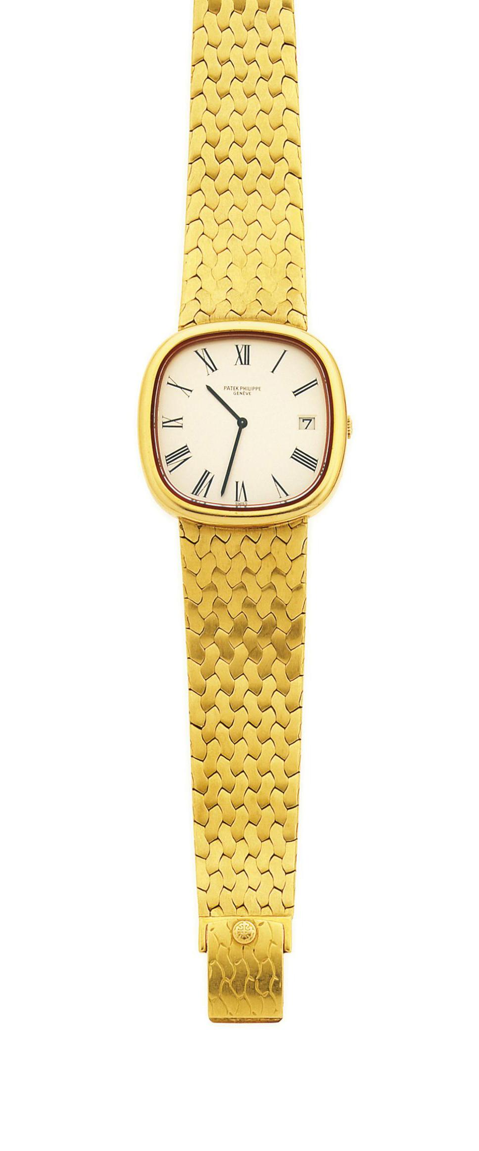 A wristwatch, by Patek Philippe