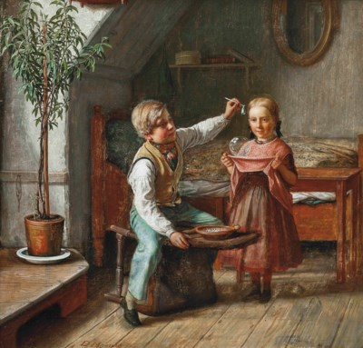 David Monies (DANISH, 1812-189