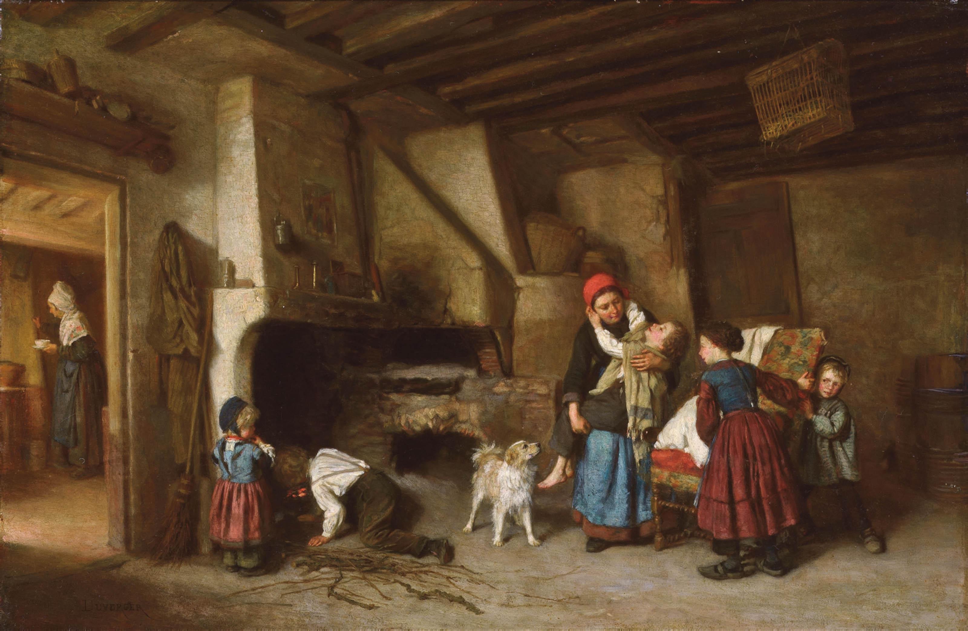 Théophile-Emmanuel Duverger (French, 1821-1901)